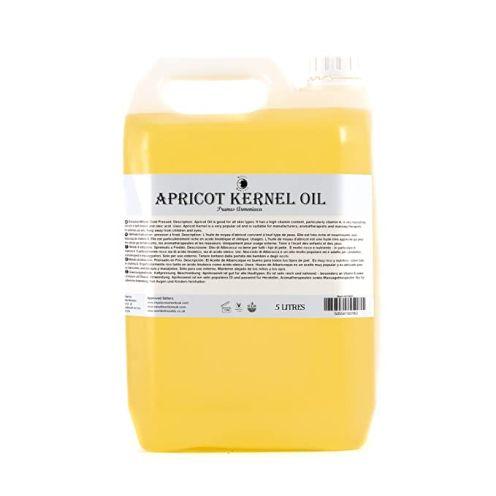 Mystic Moments Aprikosenkern Trägeröl - 5 Liter