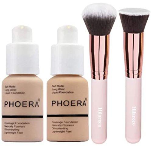 Phoera Foundation Concealer Cover Flüssigmatt