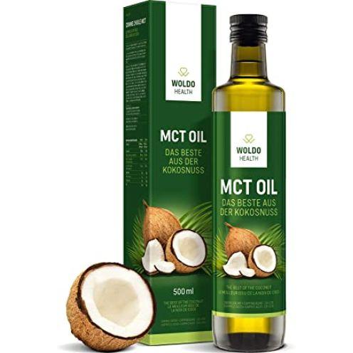 WoldoHealth MCT-Öl aus 100% Kokosöl