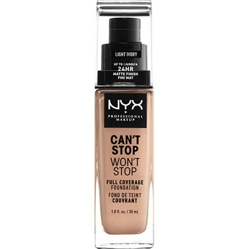 NYX Make up Can´t Stop Won´t Stop Full Coverage Foundation
