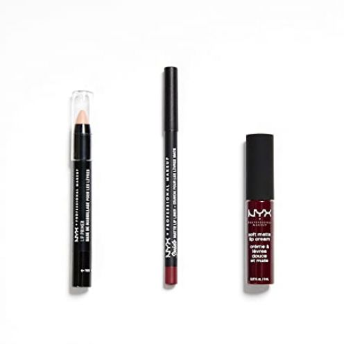NYX Professional Makeup 3-teiliges Lippen-Set