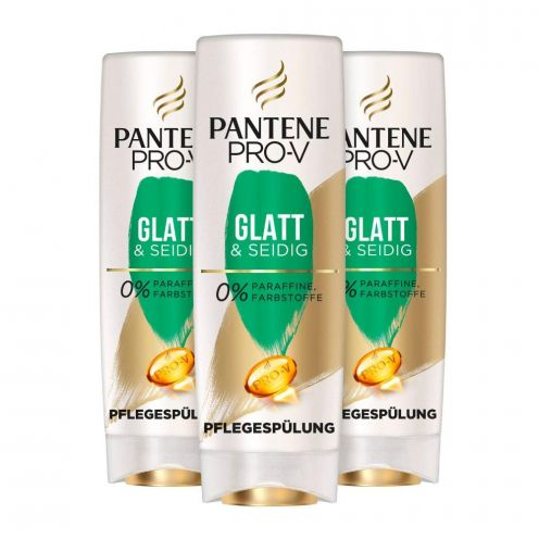 Pantene Pro-V Glatt & Seidig Pflegespülung Für Widerspenstiges Haar