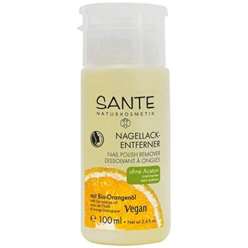SANTE Naturkosmetik Nagellack-Entferner mit Bio-Alkohol