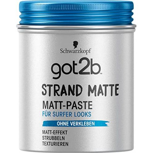 Schwarzkopf Professional got2b strand matte Matt-Paste surfer look