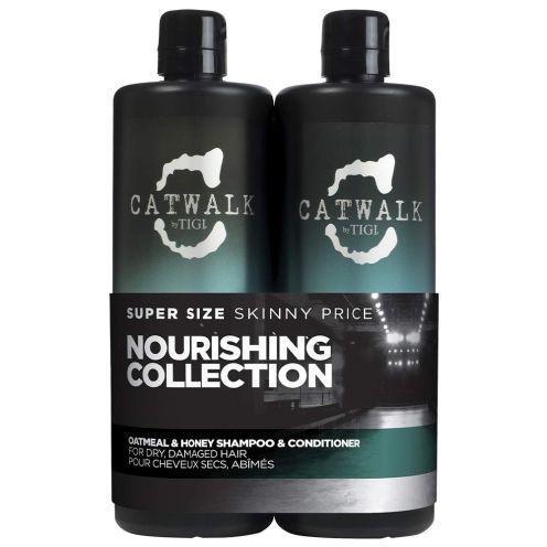 TIGI Tigi Catwalk Tween Duo Shampoo and Conditioner Oatmeal and Honey