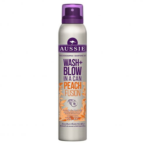 Aussie Wash+ Blow Peach Fusion Trockenshampoo
