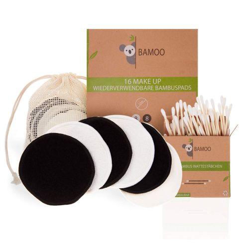 Bamboo waschbare Make up Bambus Abschminkpads