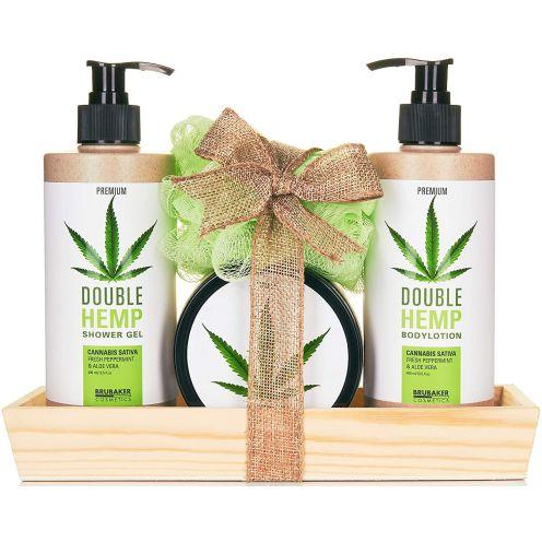 BRUBAKER Cosmetics Hanföl Dusch- und Pflege Set