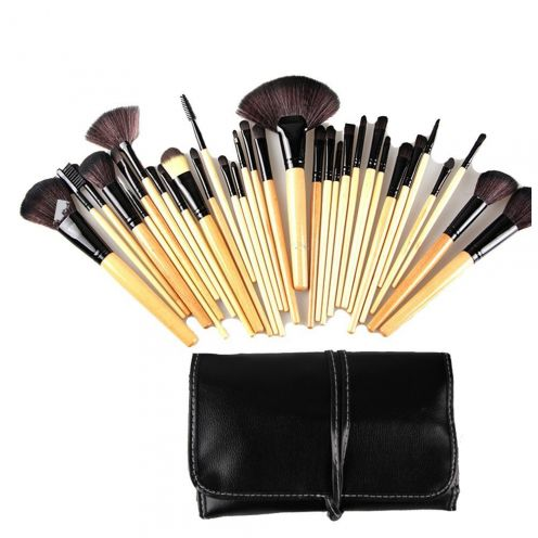 callica 32 teiliges Make-up Pinsel Set