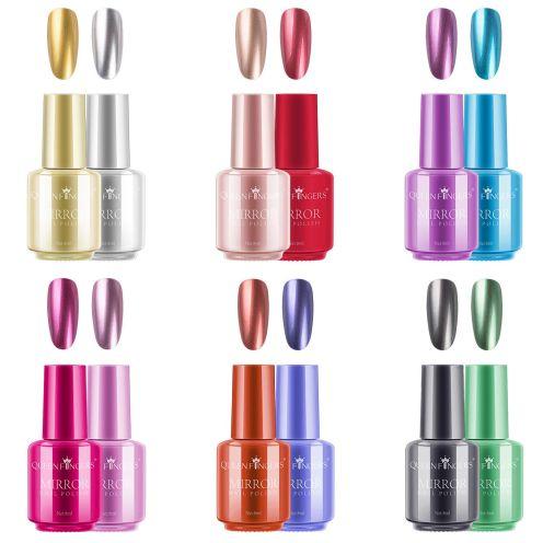 Freeorr 12 Farben Metallic-Nagellack