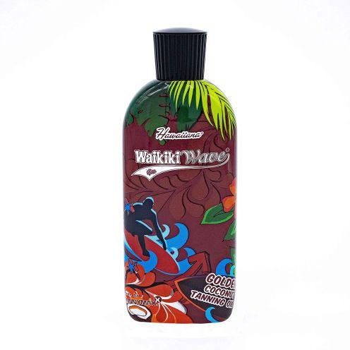 Hawaiiana Waikiki Wave - Golden Coconut Dark Tanning Oil