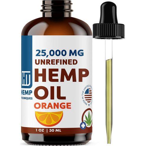 Hemp Techniques Bio Hanfsamenöl Orange