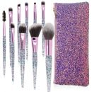 Lapeno Make-up Pinsel Set Diamant-Einhorn Design