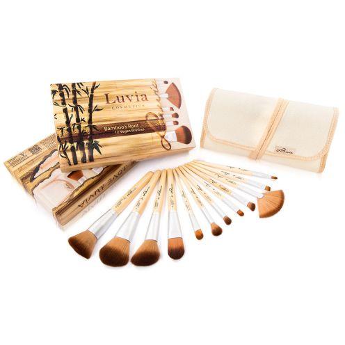 """Luvia Cosmetics Pinsel Set """"Bamboos Root"""""""