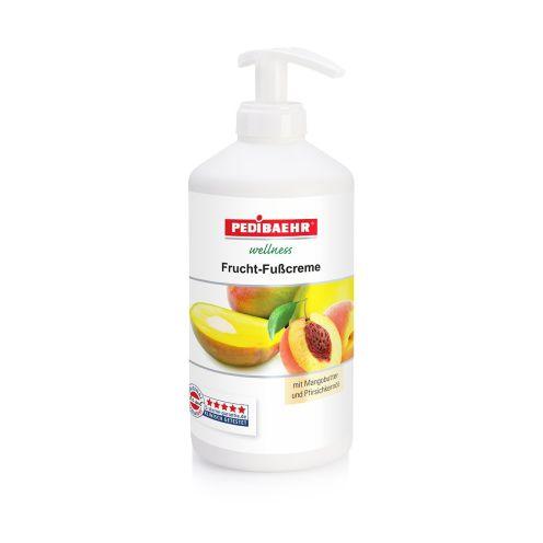 Pedibaehr Fußcreme mit Mangobutter und Pfirsichkernöl