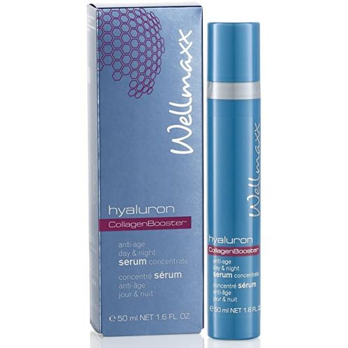 Wellmaxx hyaluron CollagenBooster day & night serum concentrate